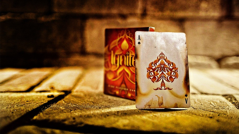 Ignite Playing Cards 手品、パーティグッズ 【garitto】