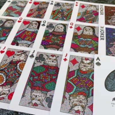 画像1: BICYCLE OWL PLAYING CARDS